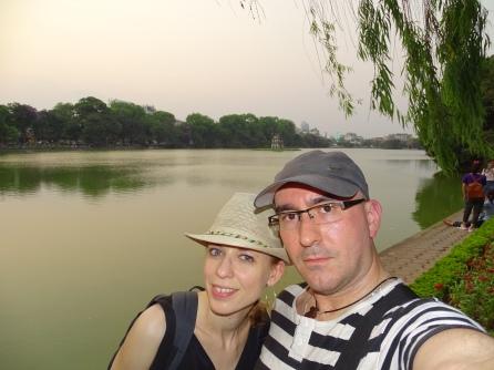 Lago Hoan Kien. Hanoi