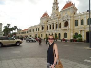 Ayuntamiento de Saigon.