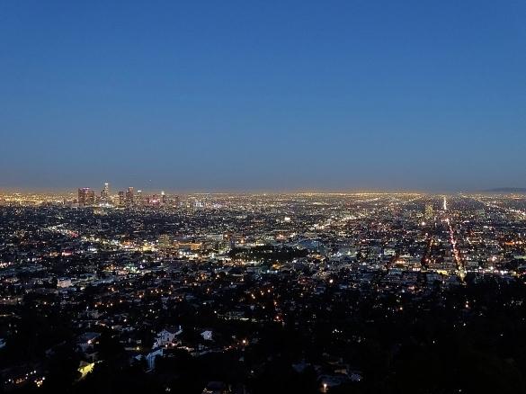 Anochecer en LA