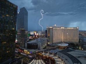 Tormenta en Las Vegas