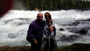 Dawson falls. Parque de Wells Gray