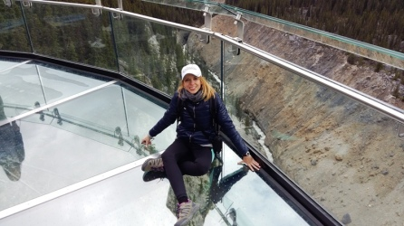 Skywalk. Parque Natural de Jasper.