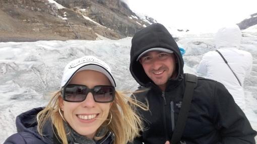 Glaciar Athabasca.