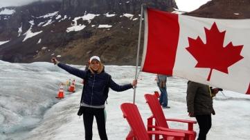 Glaciar Athabasca. Parque de Jasper.