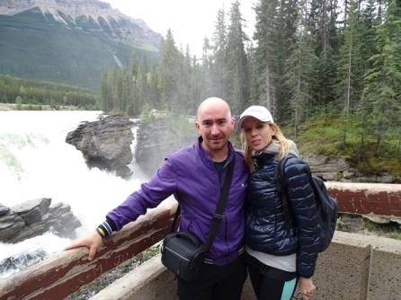Athabasca Falls. Canada