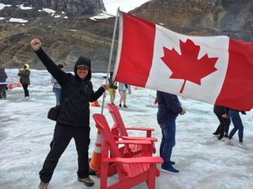 Glaciar Athabasca. Parque de Jasper