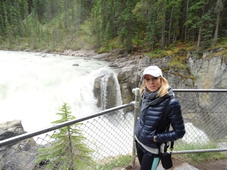 Sunwapta Falls. Jasper
