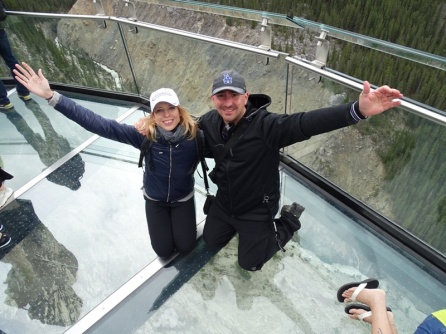 Skywalk. Parque Natural de Jasper.