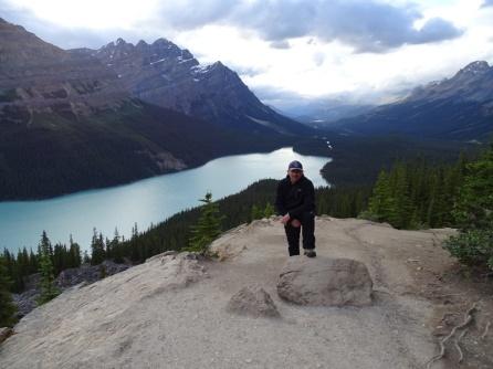 Lago Peyto. Parque natural de Banff