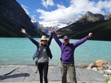 Lago Louise. Parque Natural de Banff