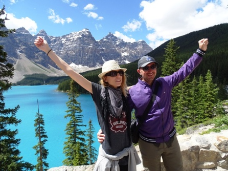 Lago Moraine. Parque de Banff
