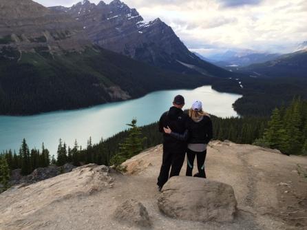 Lago Peyto. Parque Natural de Banff.