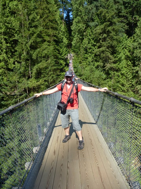 Puente Capilano. Vancouver