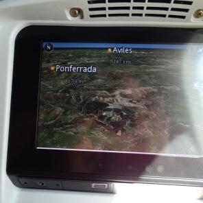 Sorpresa... (monitor individual del Boeing 787-9 Dreamliner)