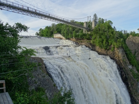 Montmorency Falls. Quebec