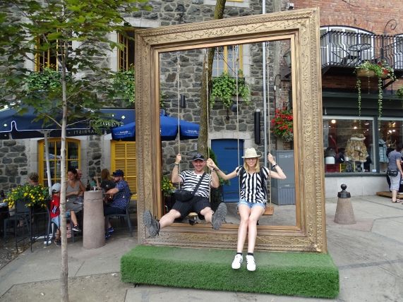 Baja ciudad vieja de Quebec
