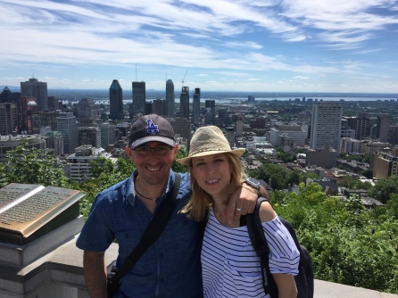 Vistas desde Mont Royal. Montreal