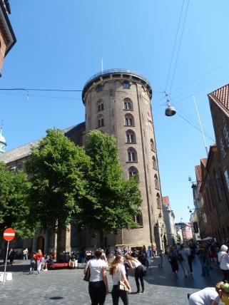Torre redonda.
